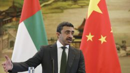 United Arab Emirates Minister of Foreign Affairs and International Cooperation Sheikh Abdullah bin Zayed. EPA/WU HONG