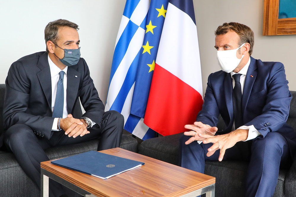 Ολοκληρώθηκε η συνάντηση Μητσοτάκη – Μακρόν: Απόλυτη συμφωνία για στρατηγική σχέση και αμυντική συμφωνία
