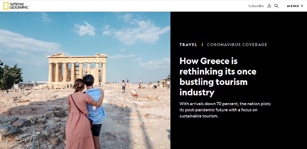 ScreenShot: Το ρεπορτάζ του National Geographic για τον ελληνικό τουρισμό