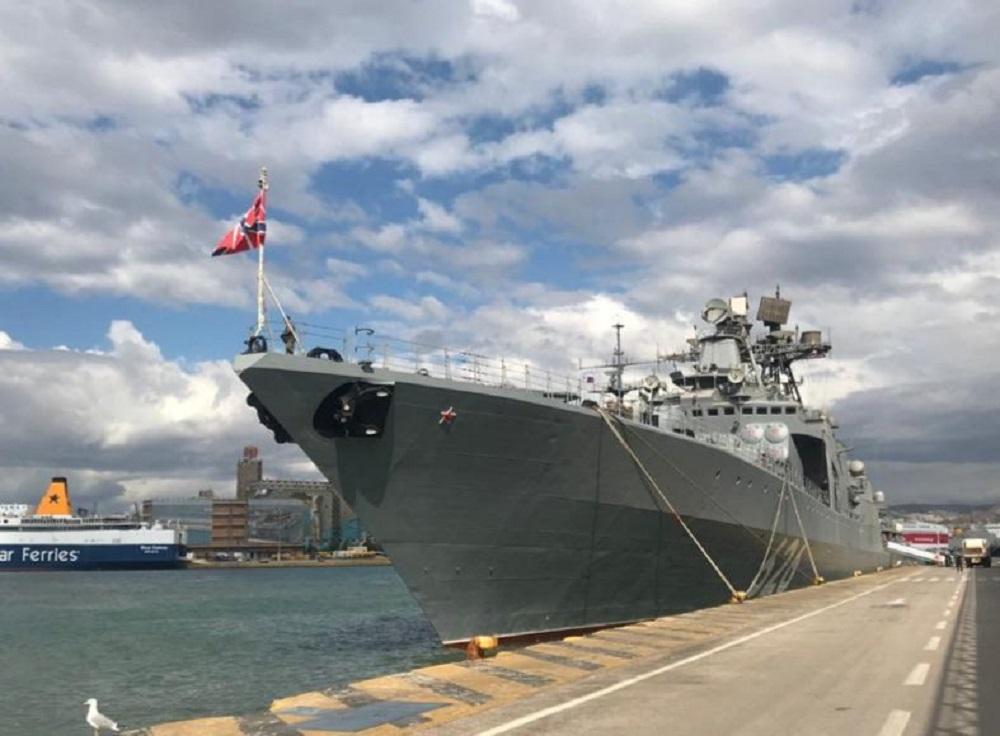 """Στον Πειραιά το ρωσικό ανθυποβρυχιακό """"Vice Admiral Kulakov""""(ΦΩΤΟ)"""
