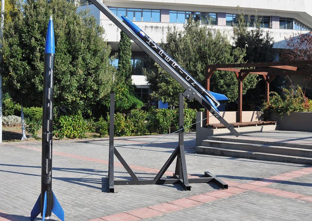 Photo Το project ''Rocketry'' έχει σχεδιάσει πέντε μοντέλα πυραύλων Aristotle Space & Aeronautics Team μέσω ΑΠΕ-ΜΠΕ