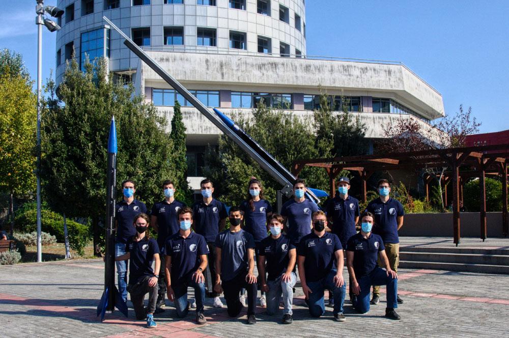 Photo Η φοιτητική ομάδα Α.S.A.T. Aristotle Space & Aeronautics Team, αποτελεί τη μεγαλύτερη ερευνητική, φοιτητική ομάδα Αεροδιαστημικής Aristotle Space & Aeronautics Team μέσω ΑΠΕ-ΜΠΕ